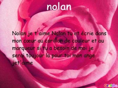 poème nolan