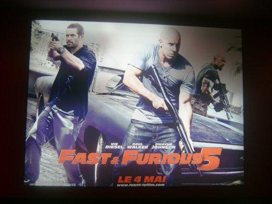 La ' Street Car Kustom ' en balade pour la sortie de Fast Five