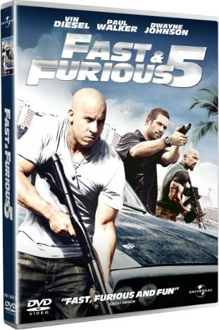 Fast and Furious cinq en DVD