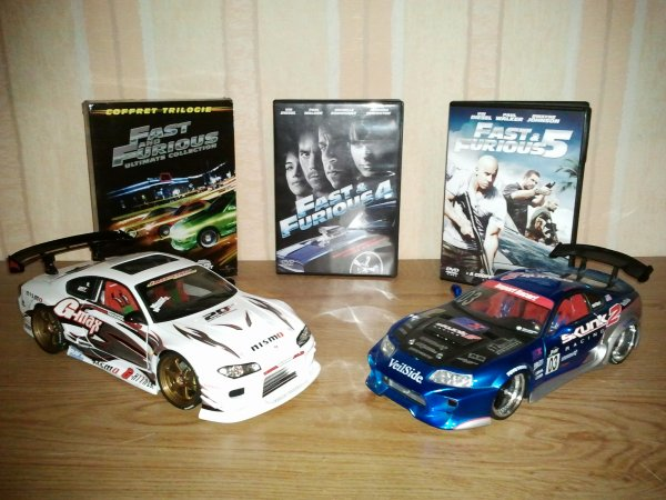 Achat DVD Fast and Furious cinq (Photos Miniatures Tuning)