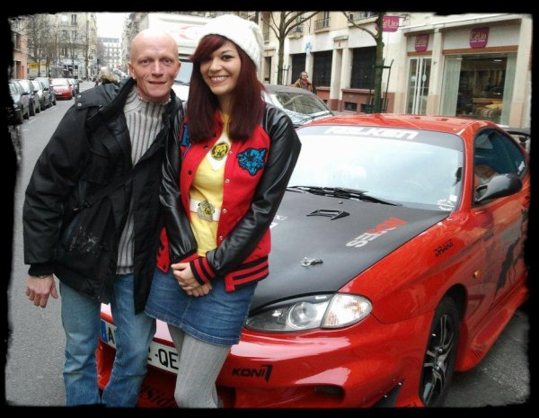 Neela en V.I.P dans Paris avec JENA LEE et BENJY DREW