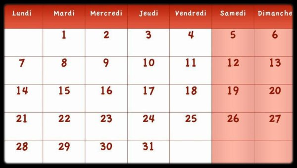Calendrier Janvier 2013 / Dates Meetings