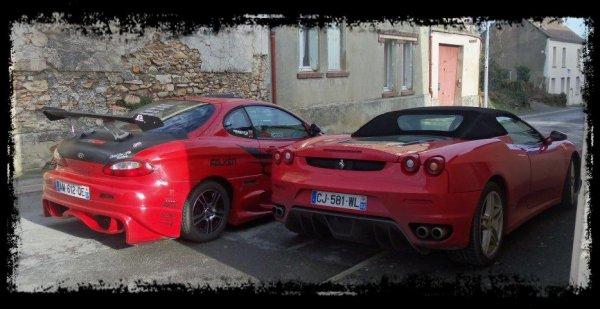 """Shooting NEELA vs F430 Spider, Superbe ! """"Deux couleurs pour une passion"""" (Part 1)"""
