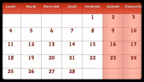 Calendrier Février 2013 / Dates Meetings