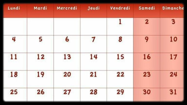 Calendrier Mars 2013 / Dates Meetings