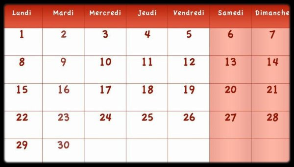 Calendrier Avril 2013 / Dates Meetings