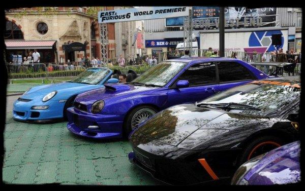 "Avant première mondial ""Fast and Furious 6"""