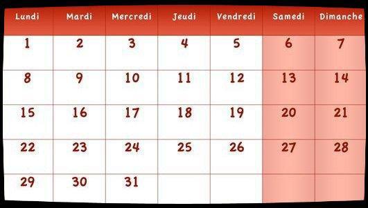 Calendrier Juillet 2013 / Dates Meetings