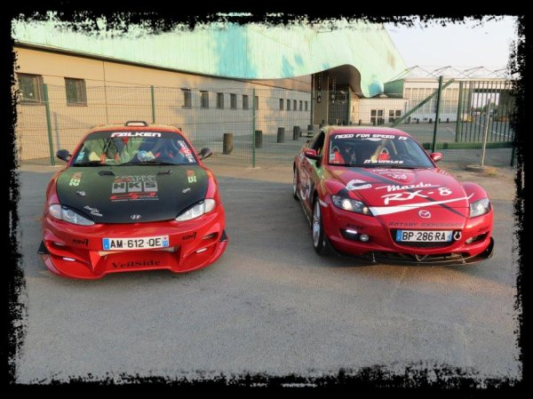Shooting NEELA vs RX8 ... Duo Racing !