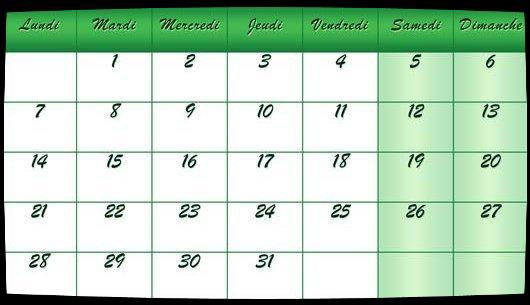 Calendrier Octobre 2013 / Date Meetings