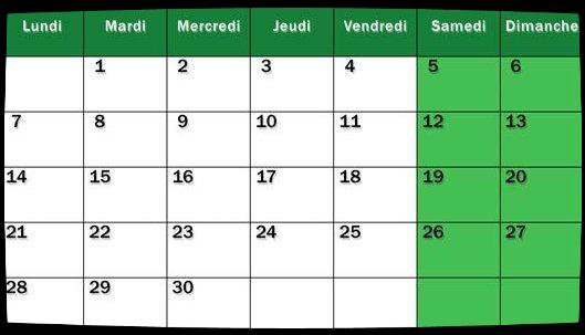 Calendrier Avril 2014 / Date Meetings