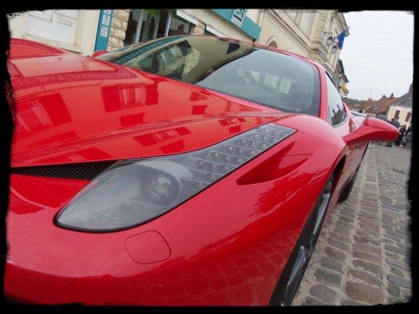 """Vue dans la Rue """"458 ITALIA"""" Shooting d'anthologie, Le pied !"""