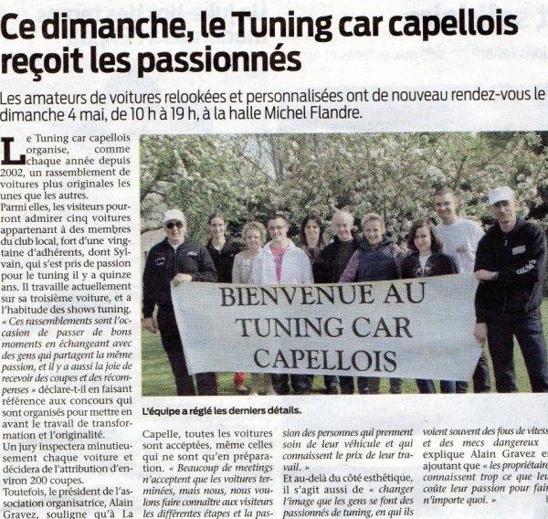 """Prochain Meeting pour NEELA """"La Capelle"""""""