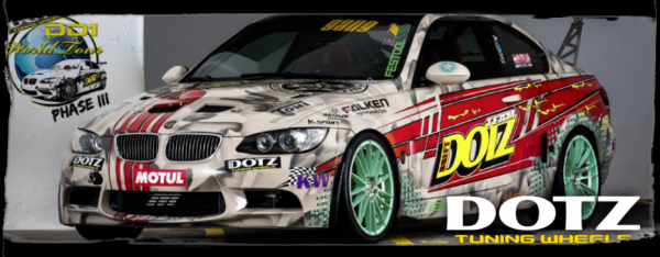 "DRIFT Passion: ""King of Europe - Champion Adam Kerenyi promo by Dotz Tuning Wheels """