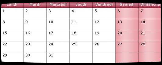 Calendrier Décembre 2014 / Dates Meetings