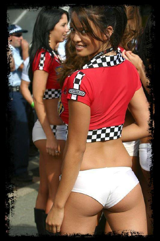 Racing Sexy Girls