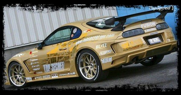 "Cliché Japan Racing ""Supra TOP Secret"""