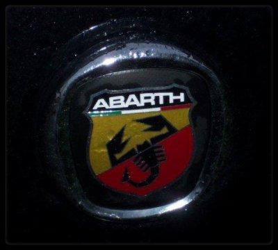 "Vue dans la rue ""Fiat ABARTH"""