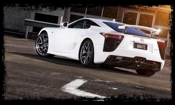 "Tuning Car ""SUPERCAR LEXUS LFA"" (Dossier - Vidéo)"
