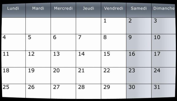 Calendrier Dates Meetings Mai 2015