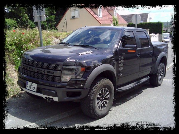 vue dans la rue ford f150 raptor 6 2l svt blog de team jb concept. Black Bedroom Furniture Sets. Home Design Ideas