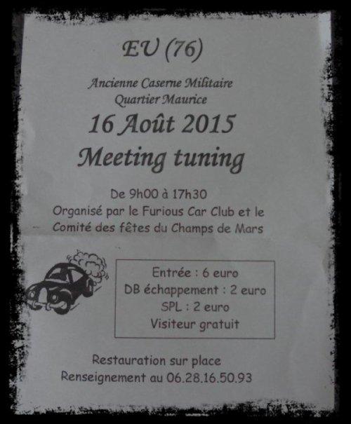 Prochain Meeting pour NEELA (Aout 2015)