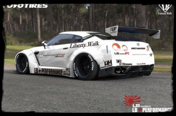 "Prépa Projet ""Nissan GTR R 35 Liberty walk"" Du lourd !!"
