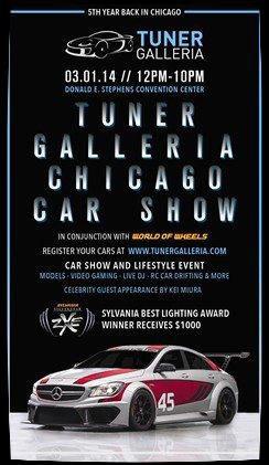 """""""Tuner Galleria Chicago 2014"""" La crème des rasso Jap !  Superbes Vidéos"""