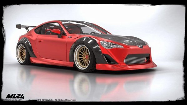 "Kit Carrosserie ML 24 SCION FR S ""Une icone en route"""