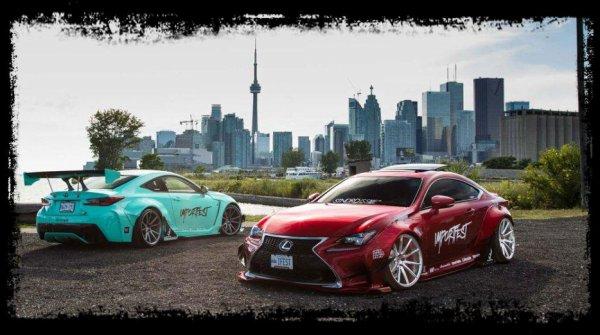 """Lexus RC F & RC 350 """"Du Racing pour un sublime duo"""" (Extra Vidéo)"""