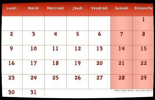 Calendrier Dates Meetings Mai 2016