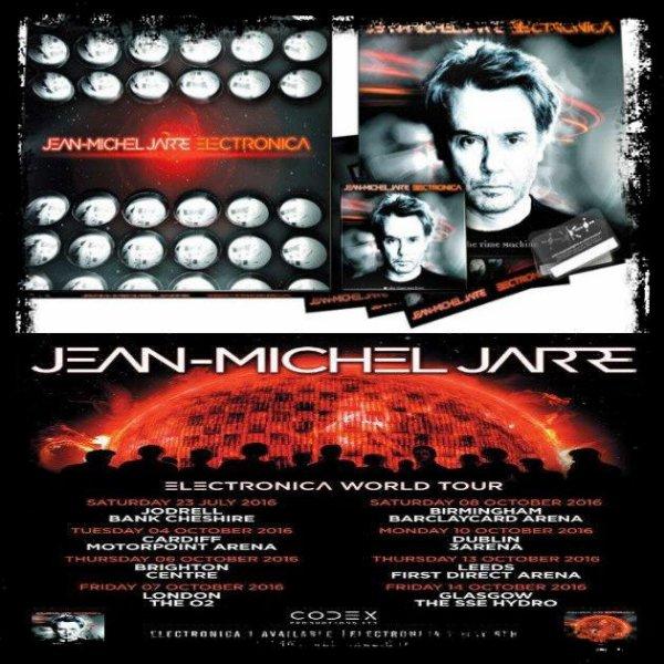 """Musique Son: Jean Michel JARRE  """" Album Electronica 2 """" (Extraits - Vidéos) Un mythe toujours présent !"""
