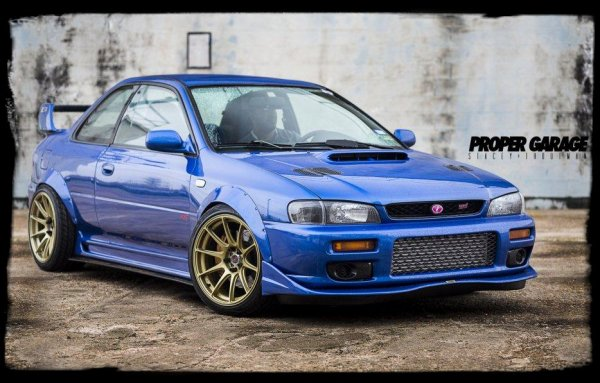 "JDM Classic - ""Subaru Impreza GC8 RSTI"" (Extra Vidéo)"