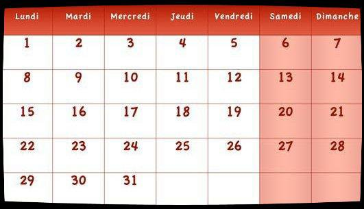 Calendrier Dates Meetings Août 2016