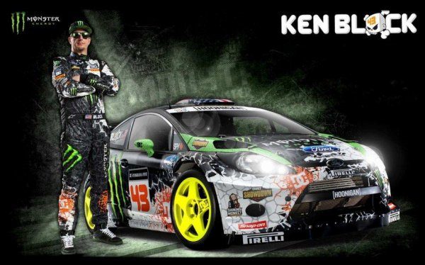 "Drift Passion "" Ken Block's GYMKHANA NINE: Raw Industrial Playground"""