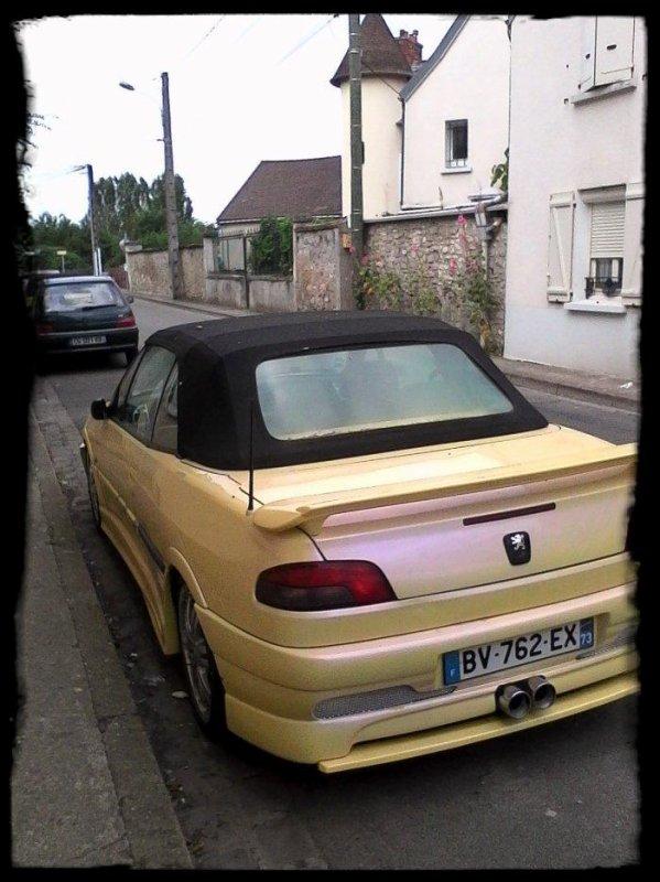 "Vue dans la rue ""PEUGEOT 306 Cabriolet Tuning"""