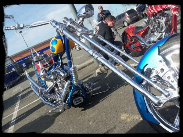"1er Plessis Vintage Car Show ""Deux Choppers de folie !"" (Part1)"