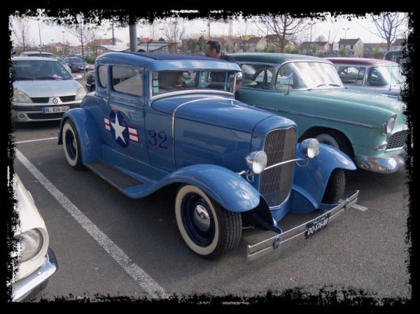 "1er Plessis Vintage Car Show ""Spécial Hot Rod"""