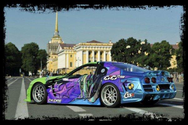 "Drift Passion: ""Magistrale Supra de  Sergey Kabargin en plein St Petersbourg "" (Vidéo)"