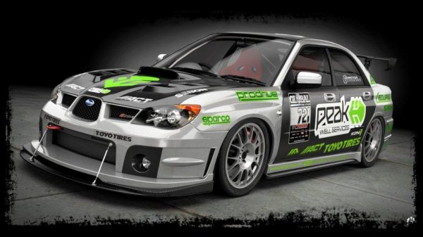 "Cliché Japan Racing ""SUBARU WRX Time et Attack by Dangeruss"""