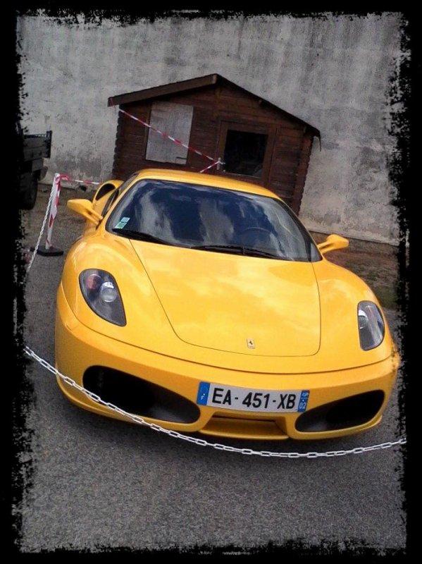 """Vue dans la rue: """"Ferrari F430"""""""