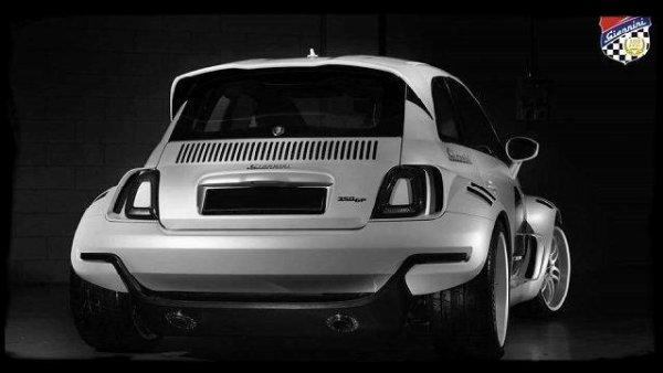 """Fiat 500 Gianini 350GP """"Une petite bombe bodybuildée"""""""