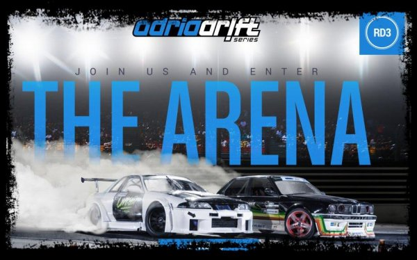 "Drift Passion: ""Drift Arena Show, Un véritable spectacle !"""