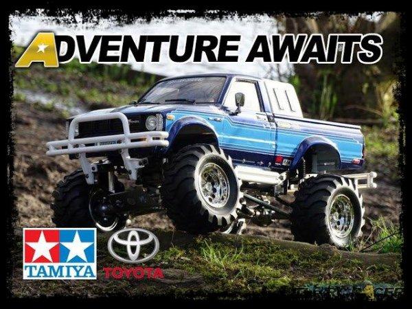 Toyota Hilux Bruiser; Quand le Modélisme inspire la réalité ! (TAMIYA Inspired One-Off / Vidéo)