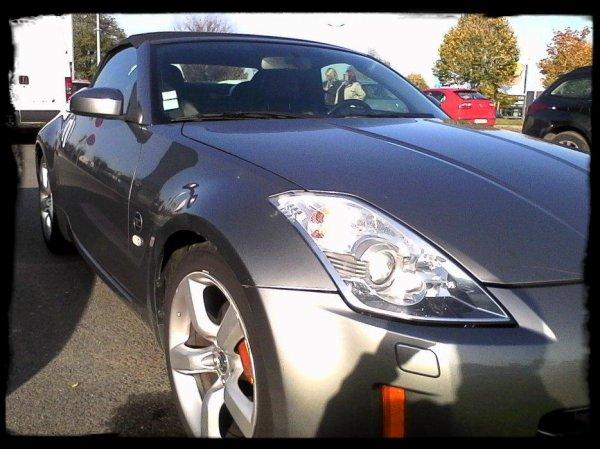 "Vue dans la rue: ""Nissan 350Z Cabriolet"""