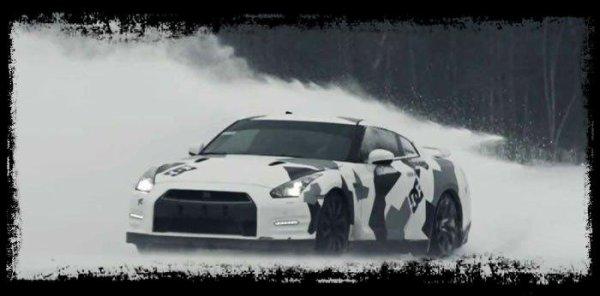 """GTR R35 by Team Ice Ricers """"Une bête sur la neige !"""" (Vidéos)"""