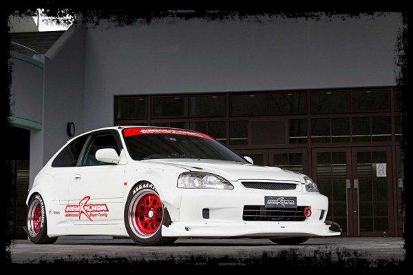 """Cliché Japan Racing: """"Honda Civic Type R by M et M"""""""