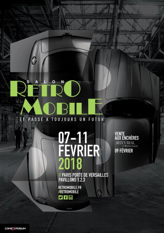 "Retromobile 2018 ""La passion en expo"""