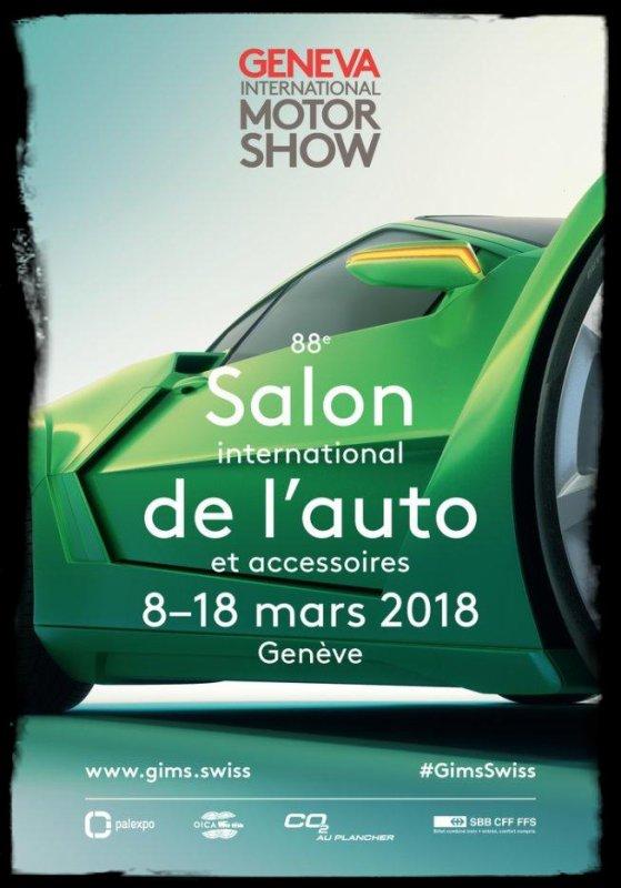 """Salons Automobile: """"Super Cars et Liberty Walk au Salon de Genève 2018"""" (Vidéos )"""