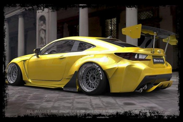"Cliché Japan Racing: ""Lexus RCF by Rocket Bunny"""